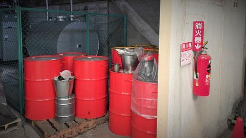 危険物が指定数量以上であれば消火設備の設置義務