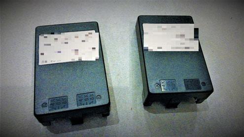 自動通報の音声が記録されているロムパック