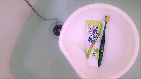 """歯磨き粉""""デンター"""""""