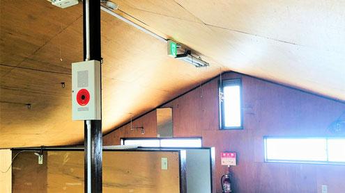 屋根が傾いている場合 消防用設備