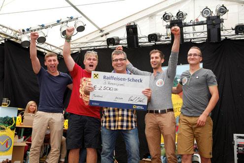 Sieger 2014 waren die Calisthenics Turner aus Marchtrenk