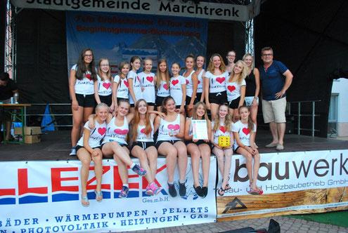 "100. JuWeL-Verleihung an ""Dance United"" aus Wartenberg/ München"