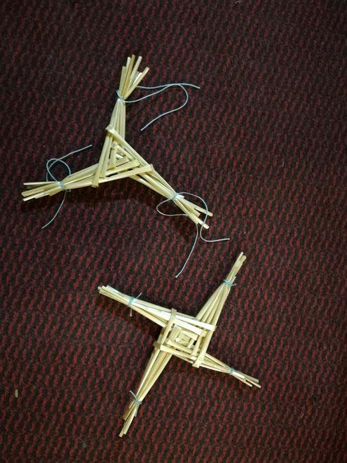 Brigids Kreuz oder Brigids Knoten