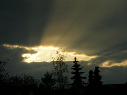 Ein besonderer Sonnenuntergang - Foto Vesna Rau