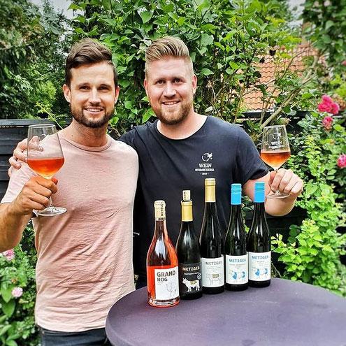Weinverkostung der Metzger Weine