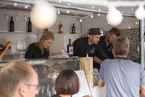 Weintasting & Weinverkostung der Weinschmeckeria für Firmencatering