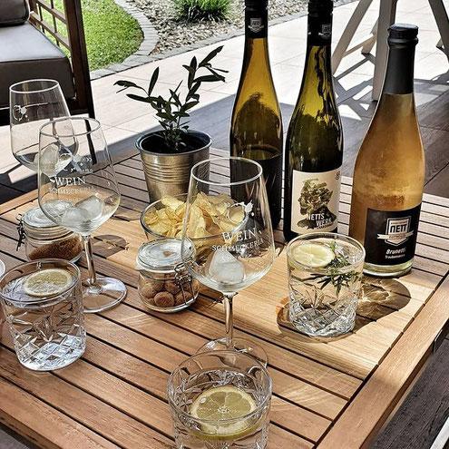 Sommer -Sonne - tolle Weine