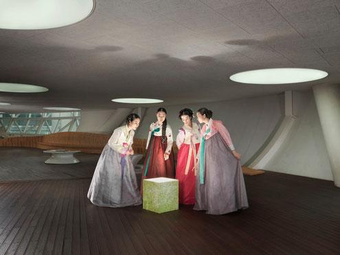 JULIA FULLERTON-BATTEN progetto Corea