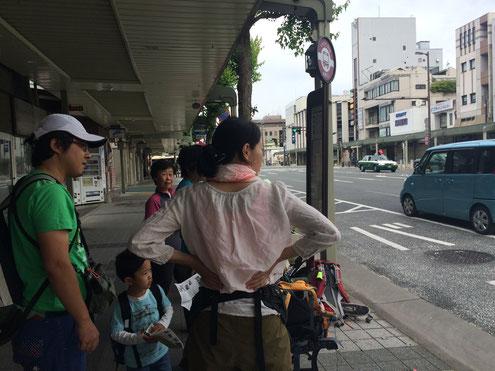 北大路烏丸東南角京都バス停留所