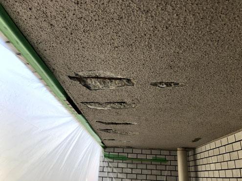 ベランダ天井