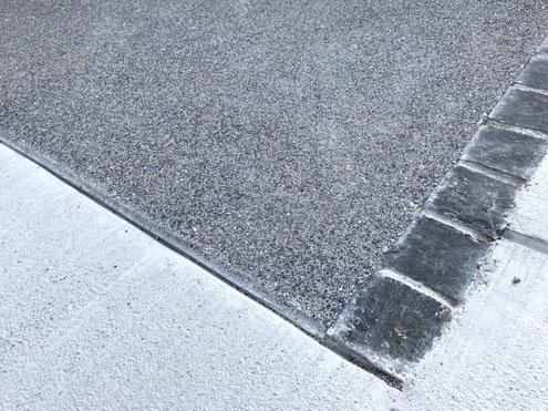 コンクリート洗い出し仕上げ