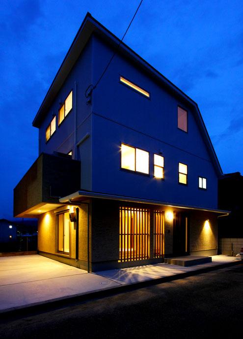 住宅 設計 子育て テレワーク 夜景