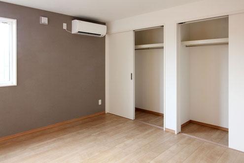 住宅 設計 主寝室 クローゼット