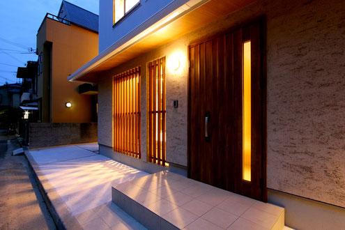 住宅 設計 和モダン 外壁 霧島そとん壁