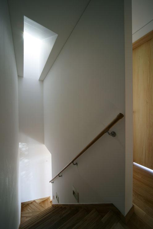 淡路島の家 注文住宅 階段
