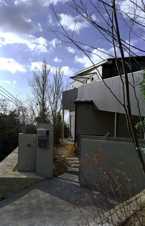 住宅 設計 建築家 平賀敬一郎 高級住宅 北欧デザイン スロープ
