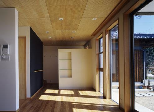 住宅 設計 淡路島 黒板 テレビボード