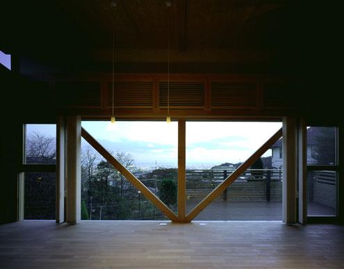 住宅 設計 建築家 平賀敬一郎 高級住宅 北欧デザイン 眺望 窓