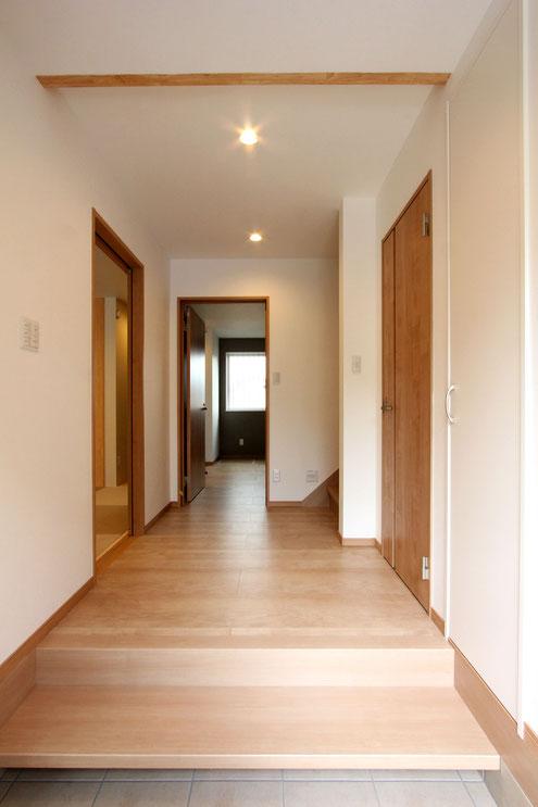 住宅 設計 子育て テレワーク 広い玄関