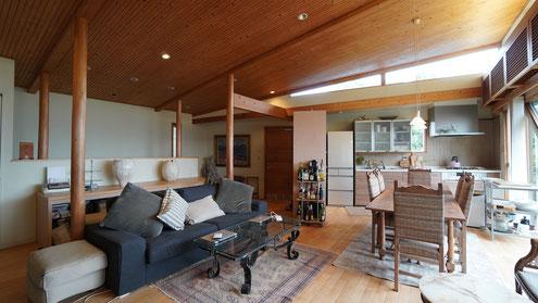 住宅 設計 北欧デザインの家 建築家 西宮 神戸 芦屋 天井 板貼り
