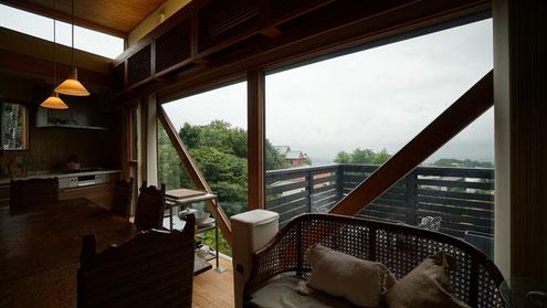 住宅 設計 北欧デザインの家 建築家 西宮 神戸 芦屋 テラス 高台