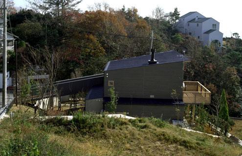 住宅 設計 建築家 平賀敬一郎 高級住宅 北欧デザイン 広いテラス