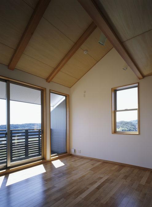 淡路島の家 主寝室 注文住宅 建築家