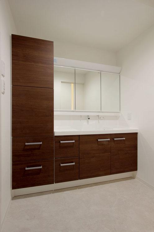 住宅 設計 洗面所 広い