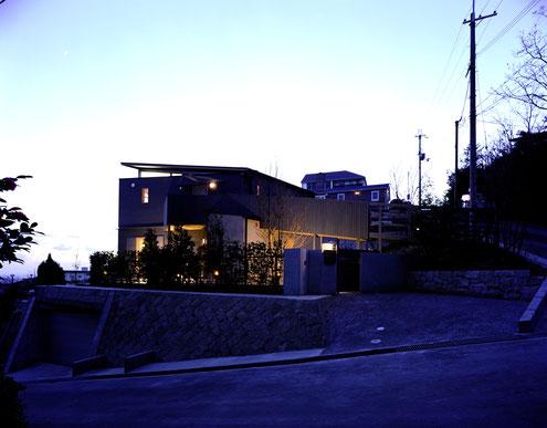 住宅 設計 建築家 平賀敬一郎 高級住宅 北欧デザイン 夜景