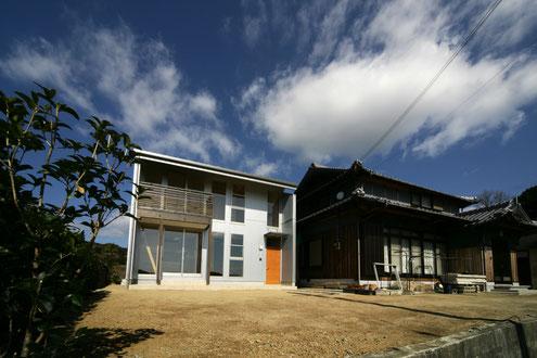 淡路島の家 外観 注文住宅