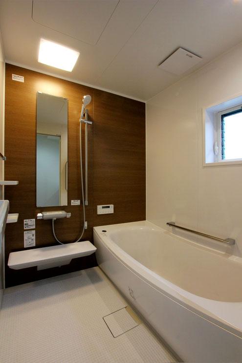 注文住宅 子育て応援 浴室