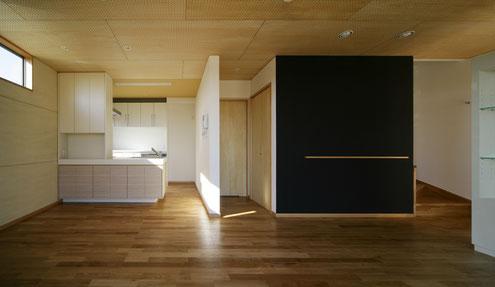 住宅 設計 無垢フローリング 木の天井