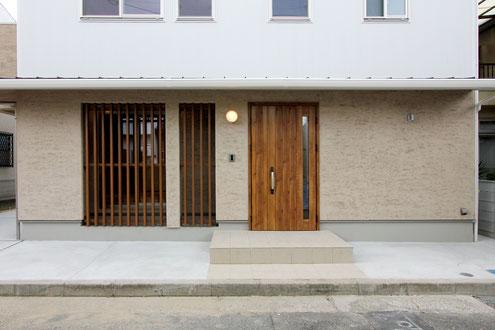 住宅 設計 外壁 霧島そとん壁 和モダン