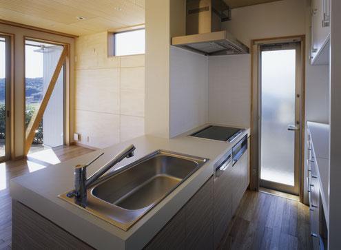 淡路島の家 注文住宅 オリジナルキッチン
