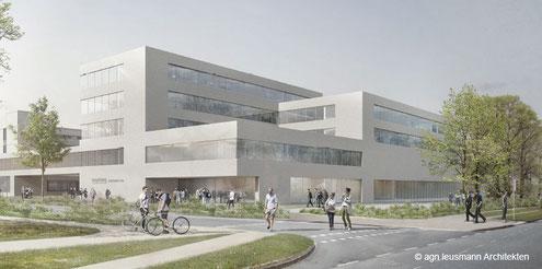 Architektenentwurf Christian-Albrechts-Universität zu Kiel – Neubau Juridicum