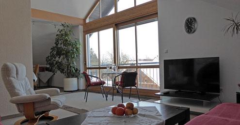 Unsere Ferienwohnung bei Landsberg am Lech - Blick aus der Küche