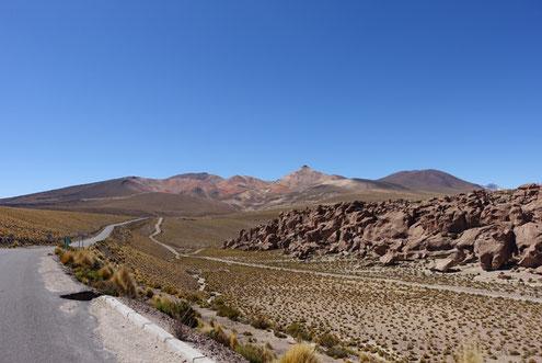 Vue montagnes désertiques