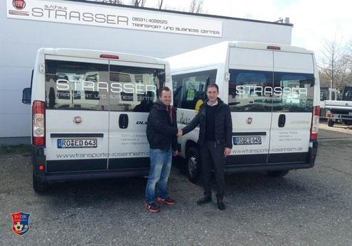 Autohaus Strasser Rosenheim unterstützt den SV DJK Kolbermoor