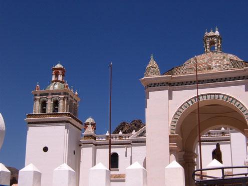 Ausflug nach Copacabana an den Titicacasee in Bolivien