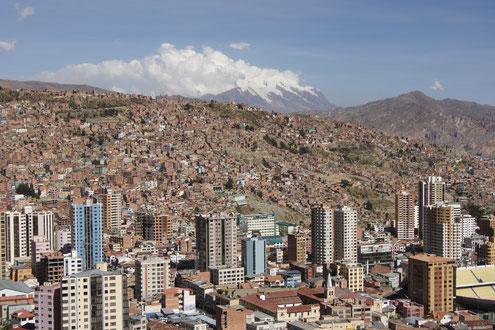 Stadtführungen in La Paz mit Besuch des Hexenmarktes mit BOLIVIENline