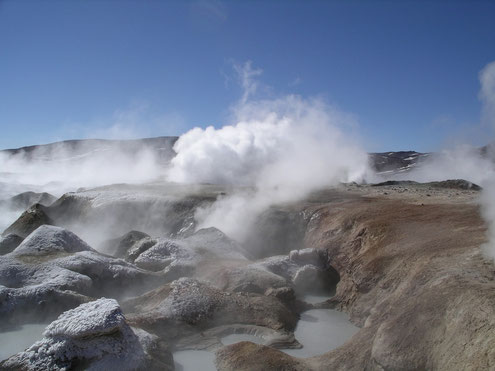 Salzseetour zu den Geysiren in Bolivien