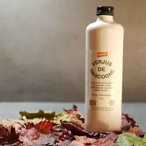 Verjus Bio Bio Grünsaft Demeter Ecocert