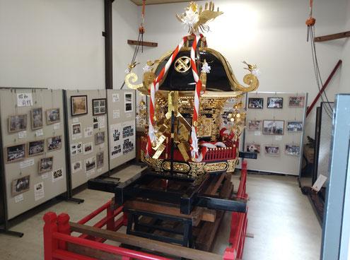 十社大神の御神輿殿で初めて開催する『神社と祭りの歴史写真展』