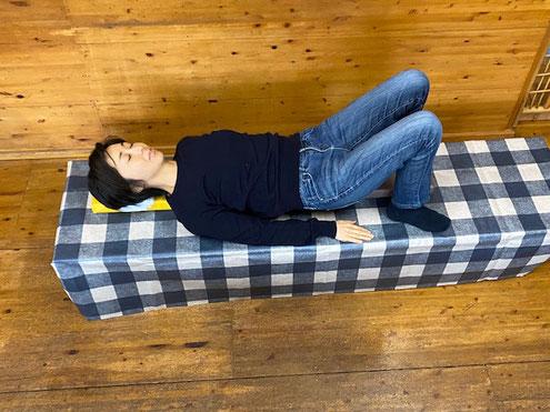 寝るだけで呼吸が深くなるセボネル