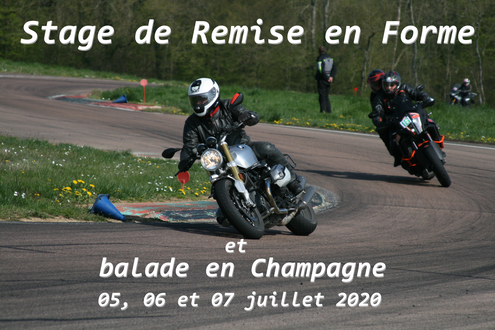 Stage de Remise en forme by Cap Moto