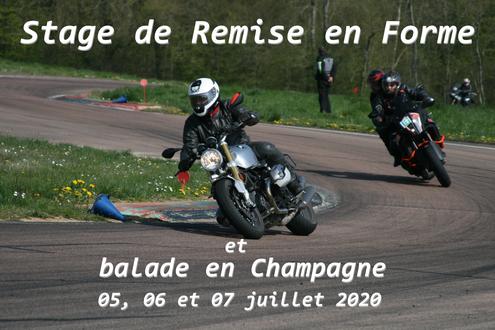 Stage de Remise en forme by Cap Moto
