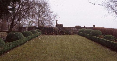 die Aussichtsterrasse 2004 - Foto: Amt für Archäologie TG
