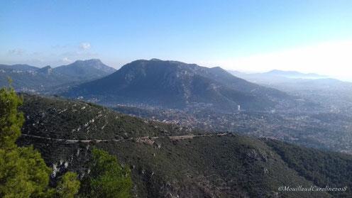 Le Mont Faron (vue du Croupatier)
