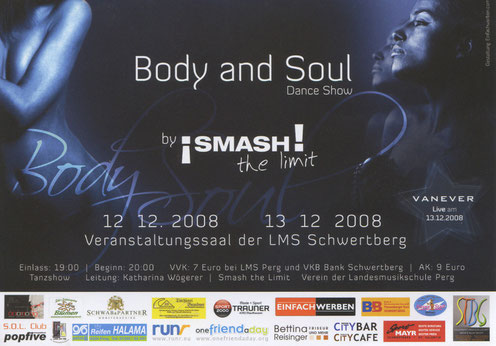 Body & Soul Flyer 2008