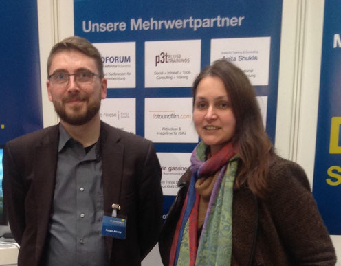 Job & Career @ CeBIT & Hannover Messe 2015 - Beratung am Messestand